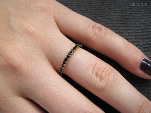 Black Diamond Eternity Band, Black Diamond Eternity Ring