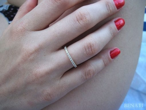 Diamond Eternity Band, Diamond Wedding Ring