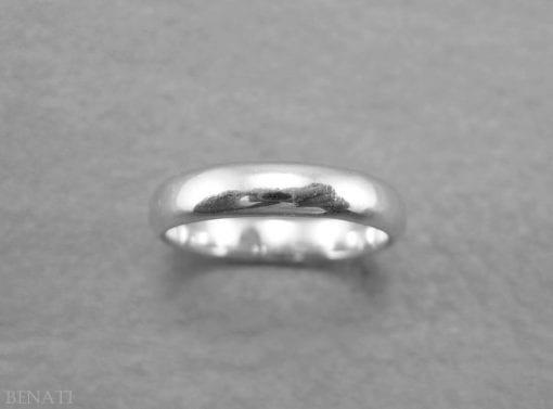 Gold Wedding Band, Simple Wedding Ring