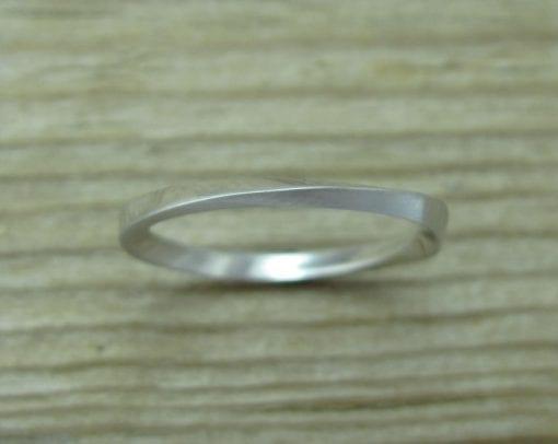 His And Hers Wedding Rings Set, Mobius Rings set