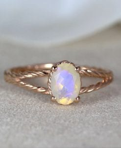 opal ring, opal engagement ring